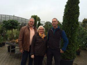 Frank Oesterhelweg, Margaret Schäfer, Marco Bosse.