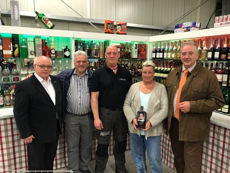 Wolfgang Gürtler, Hani Felderhoff, Carsten und Anke Brockmann sowie Frank Oesterhelweg