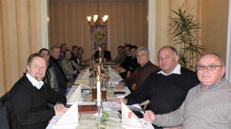 """Der CDU-Kreisvorstand kam zu seiner ersten Tagung in diesem Jahr im Hornburger """"Schützenhof"""" zusammen."""