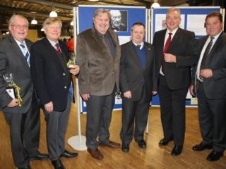 Zur Verabschiedung kamen Jochen-Konrad Fromme, Helmut Sauer, Heinz-Dieter Eßmann, Stephan Eisel, Frank Oesterhelweg und Uwe Lagosky noch einmal zusammen.