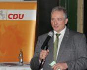 Frank Oesterhelweg bei seiner Rede zum Aschermittwoch