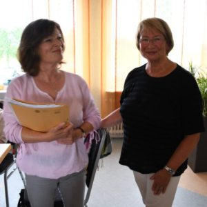 Heike Kanter (l.) tritt die Nachfolge von Elke Großer an.