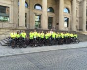 Let`s Ride For Hope vor dem Nds Landtag
