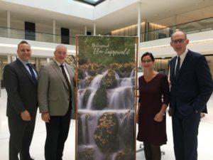 Im Bild v. l. n. r.: Oliver Schatta, Frank Oesterhelweg, Veronika Koch und Christoph Plett - CDU-Landtagsabgeordnete im Braunschweiger Land.