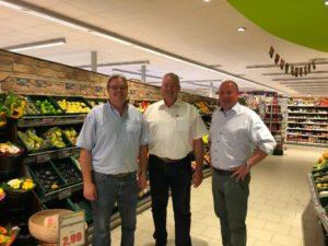 v. l. n. r. Klaus Michallik, Frank Oesterhelweg und Holger Bormann.