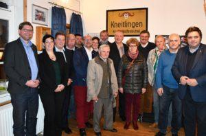 Die Funktions- und Mandatsträger aus dem CDU-Kreisverband freuten sich mit den Gastgebern über eine gelungene Veranstaltung.