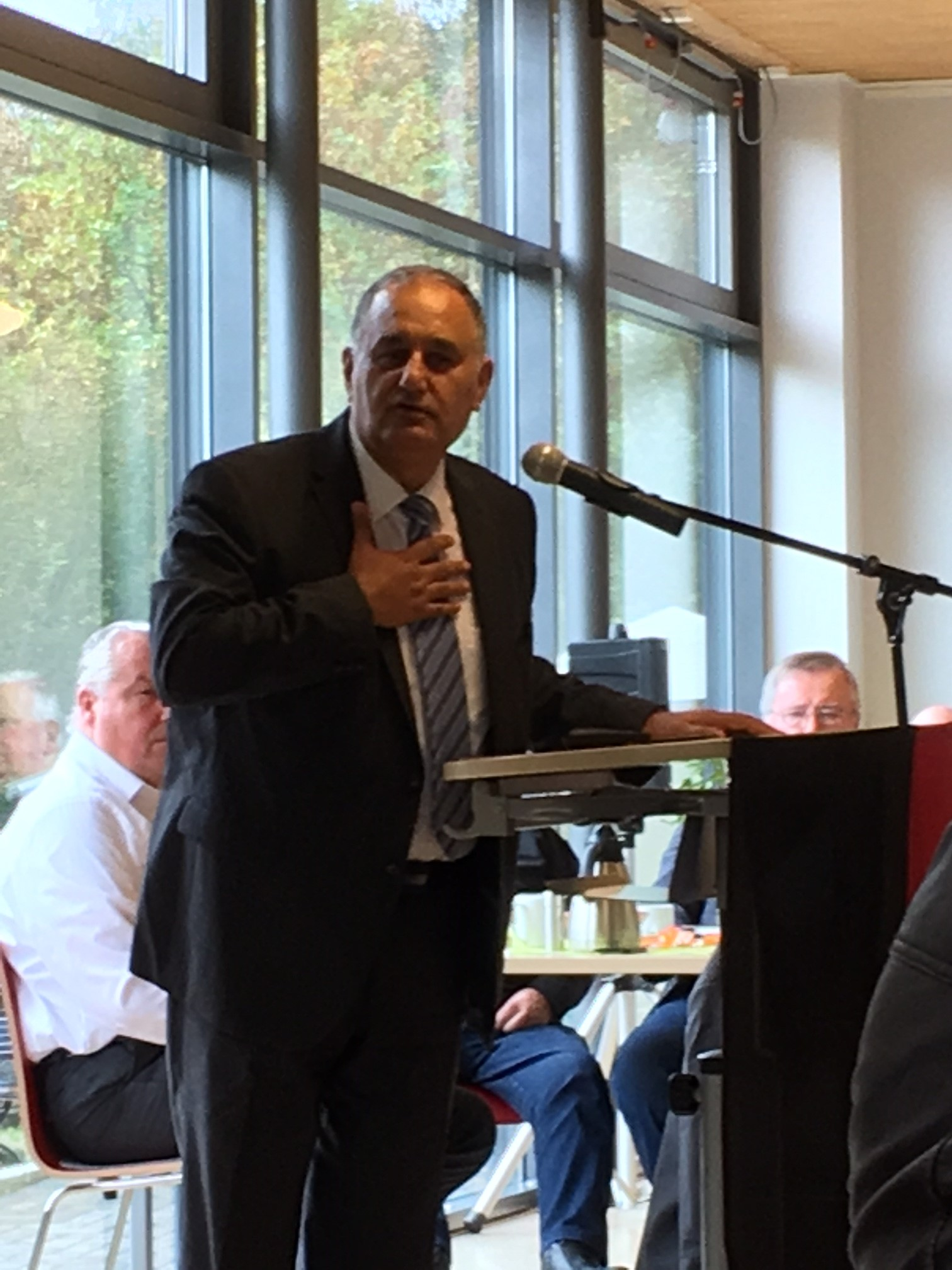 Gastredner Prof. Dr. Reza Asghari