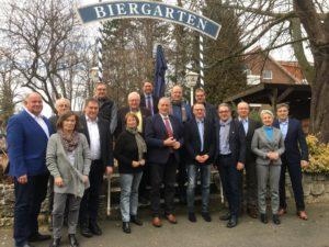 Unser Bild (privat) zeigt die Gesprächsgruppe in Wolfenbüttel.